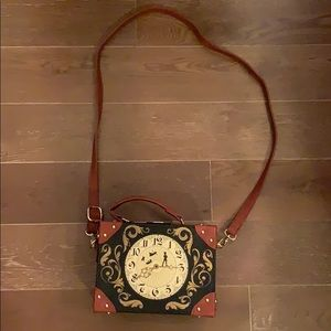 Loungefly Disney Peter Pan Clock Crossbody Trunk